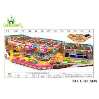 Anti - Crack Infant Indoor Playground , Soft Play Indoor Playground Family Fun For Kids