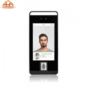 China Touchless RS485 Biometric Face Recognition System Support Wearing Covering Verification wholesale