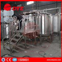 China Custom Homebrew Equipment Beer Brewing Systems High Efficient wholesale