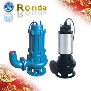 China Submersible Non Clog Sewage Pump on sale
