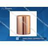 China ED Copper Shielding Foil Maximum Width 1290mm pure copper foil rolls wholesale