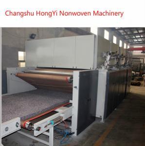 China 2M Stiff Felt Wadding Production Line / Mattress Manufacturing Machines wholesale
