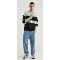 China Street Wash And Make Old Men Pants Windproof Versatile Loose Baggy Jeans wholesale