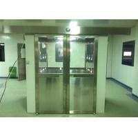 China Three Side Blowing Stainless Steel Pharmaceutical Cleanroom Air Shower System 380V 60HZ wholesale