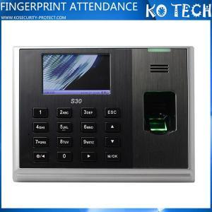 China S30 TCP/IP Biometric Fingerprint Time Attendance wholesale