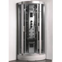 China Enclosed Steam Shower Bath Cabin Spa Shower Enclosures With Aluminum Alloy Column wholesale