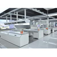 Buy cheap Chemical Resistant Grey Modular Laboratory Furniture With Large Sink Cabinet And from wholesalers
