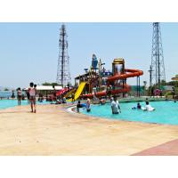 China Outdoor Water Park Rubber Flooring Rolls Commercial Grade Wear Resistant wholesale