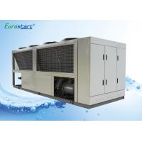 16kw Air Cooled Water Cooler : Low noise food grade cooling milk air cooled water chiller