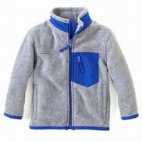 China Infant Fleece Jacket, Good Quality Coats, Ideal for Kids, Soft and Comfortable Clothes wholesale