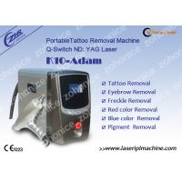 Buy cheap 1064nm / 532nm Laser Tattoo Removal Machine For Eyebrow / Speckle Removal from wholesalers