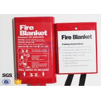 China Flame Retardant Fabric Fiberglass Fire Blanket for Thermal Heat Protection on sale