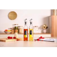 Buy cheap Fish Sauce 500ml Glass Oil And Vinegar Bottles With Metal Nozzle FDA LFGB from wholesalers