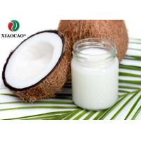 China Food Grade Certified Organic Coconut Oil , Organic Refined Coconut Oil Moisture Hair wholesale