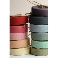 China Multi Color Printed Cotton Ribbon Double Face Style Environmentally Friendly wholesale