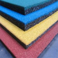 China Henan Manufacturer Sports flooring rubber tiles factory price wholesale