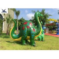 Buy cheap Garden Large DinosaurLife Size Fiberglass Statues Cartoon Shape For Outside Decoration from wholesalers