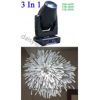 China Moving Head LED Stage Lights / LED Moving Head Lights 3 Gobo Wheels 2 Color Wheels wholesale