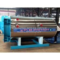 China Industrial Natural Gas Hot Water Boiler Horizontal Fire Tube Boiler For Green House on sale