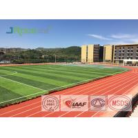 China Resilient Track And Field Surface Material , Outdoor Running Track Surface wholesale