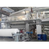 China Single Wire Tissue Paper Making Machine Toilet Roll Manufacturing Machine wholesale