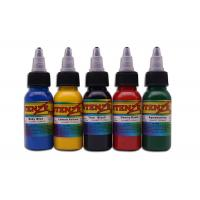 China 7 Color Options Permanent Tattoo Ink , 30ml / 1oz / Bottle Intenze Tattoo Ink on sale