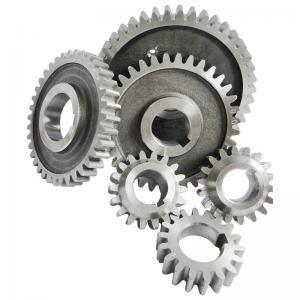 China Carbon steel Diesel Engine Gear S195 S1100 Gear sets 6pcs/set nitriding black color wholesale
