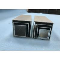 China Differnet Diameters Square Aluminum Extrusions , Extruded Aluminum Pipe 0.7mm To 6mm wholesale