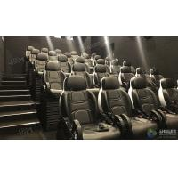 China Glittering Adventure Motion Electric Mobile 5D Cinema With Fiber Glass Material wholesale