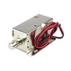 China DC 12V / 24V Electronic Cabinet Lock 0.2 Kg Smart Cabinet Bolt Lock wholesale