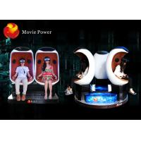 China Electric System 9D VR Cinema Egg Cinema Equipment For Park / Busy Street wholesale