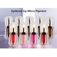 China 10ml Permanent Eyebrow Ink , 18 Colors Semi Permanent Makeup Tattoo Eyebrow Ink on sale
