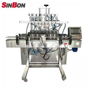 China 8 Heads Automatic Liquid Filling Machine filling liquid machine wholesale
