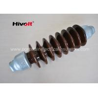 Quality 46 KV Station Post Insulators , Suspension Type Insulator Self Cleaning for sale