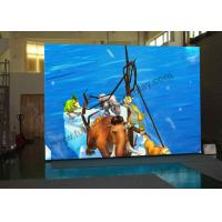 China P3 Tri - Color Indoor Rental Led Display , Thin Cabinet Led Stage Screen Rental wholesale