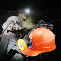 China Cree rechargeable high power led mining cap lamp wholesale
