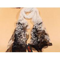 Buy cheap 175x 55cm ladies HAND Printed Silk Scarf, fashion long scarves from wholesalers