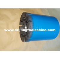 China Exploration Mining Diamond Tipped Core Drill Bits Various Waterways Design For Concrete wholesale