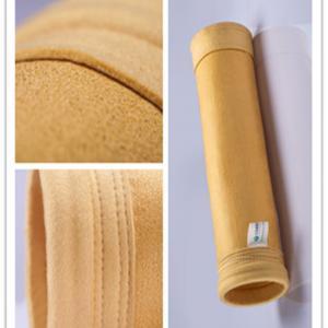 China High temperature 550gsm Polyimide(P84) Filter Bag anti-acid & anti-alkali and long life wholesale