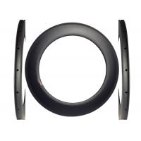 China 700c Clincher Racing Carbon Road Rims 23mm Width Torsion Strength >50kg wholesale