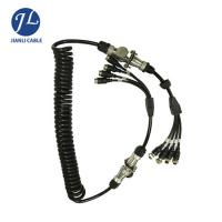 Buy cheap 7 Pin Male Connect Four Female Aviation Cable For Split Screen Reversing Camera System from wholesalers