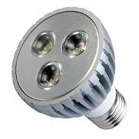 China GU10 1 * 1W Warm White LED Spot Lamps 100v / 110v / 120v with long life , 80 Ra on sale