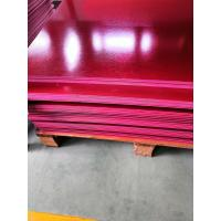 China Square EN45545 Certified GPO3 Fiberglass Sheet Made From Polyester And Glass Fiber wholesale