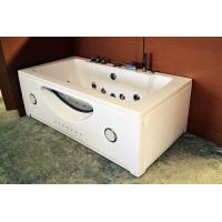 China High End Jacuzzi Whirlpool Bath Tub With Underwater Light And Ozone Generator wholesale