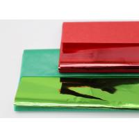 China Christmas Coloured Wax Paper Sheets Single Side Good Air Permeability wholesale