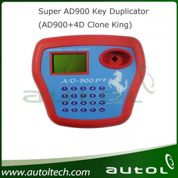 Super Transponder Chip Clone King 4d Auto Key Programmer: Super AD900 Key Duplicator(AD900+4D Clone King) Of Autol