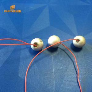 China Piezo Ceramic Element Hemisphere , piezoelectric ceramic Materiasl For Welding Tansducer on sale