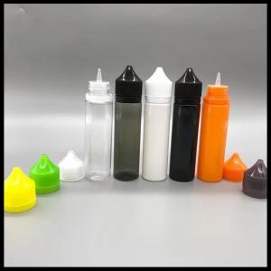 Clear Chubby Gorilla Empty Dropper Bottles , Custom 60 Ml Squeeze Bottle
