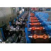 China Two Waves Highway Guardrail Roll Forming Equipment 75mm Roller Axis GCR15 Roller wholesale