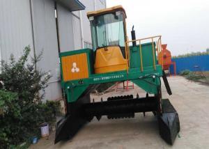 China Crawler type 700m³/H Tractor Compost Turner Machine wholesale